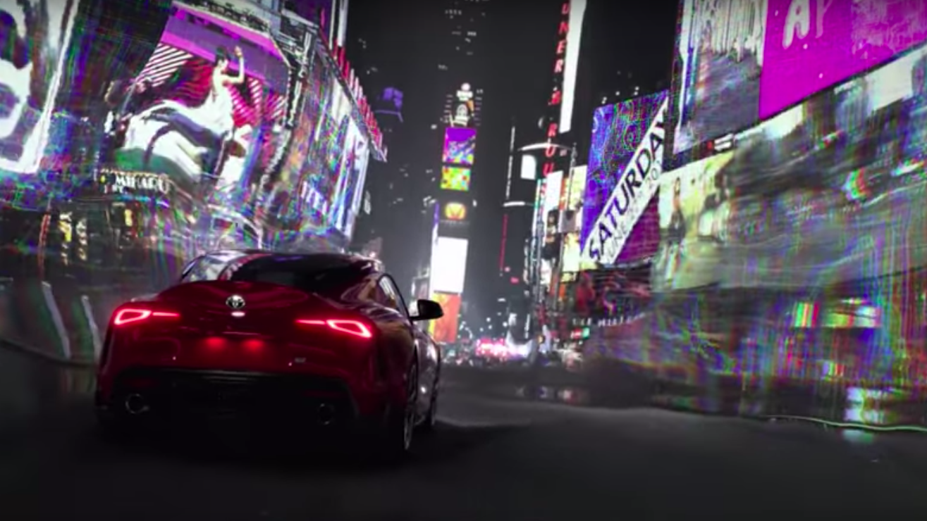 Toyota premieres its all-new Supra with our custom soundFX and music