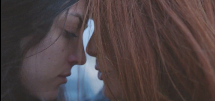 screenshot from Zalando Holiday 2020 advert of two women holding each other