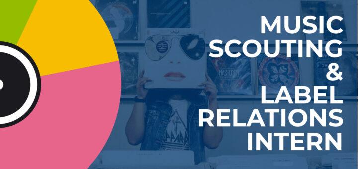 music scout internship banner