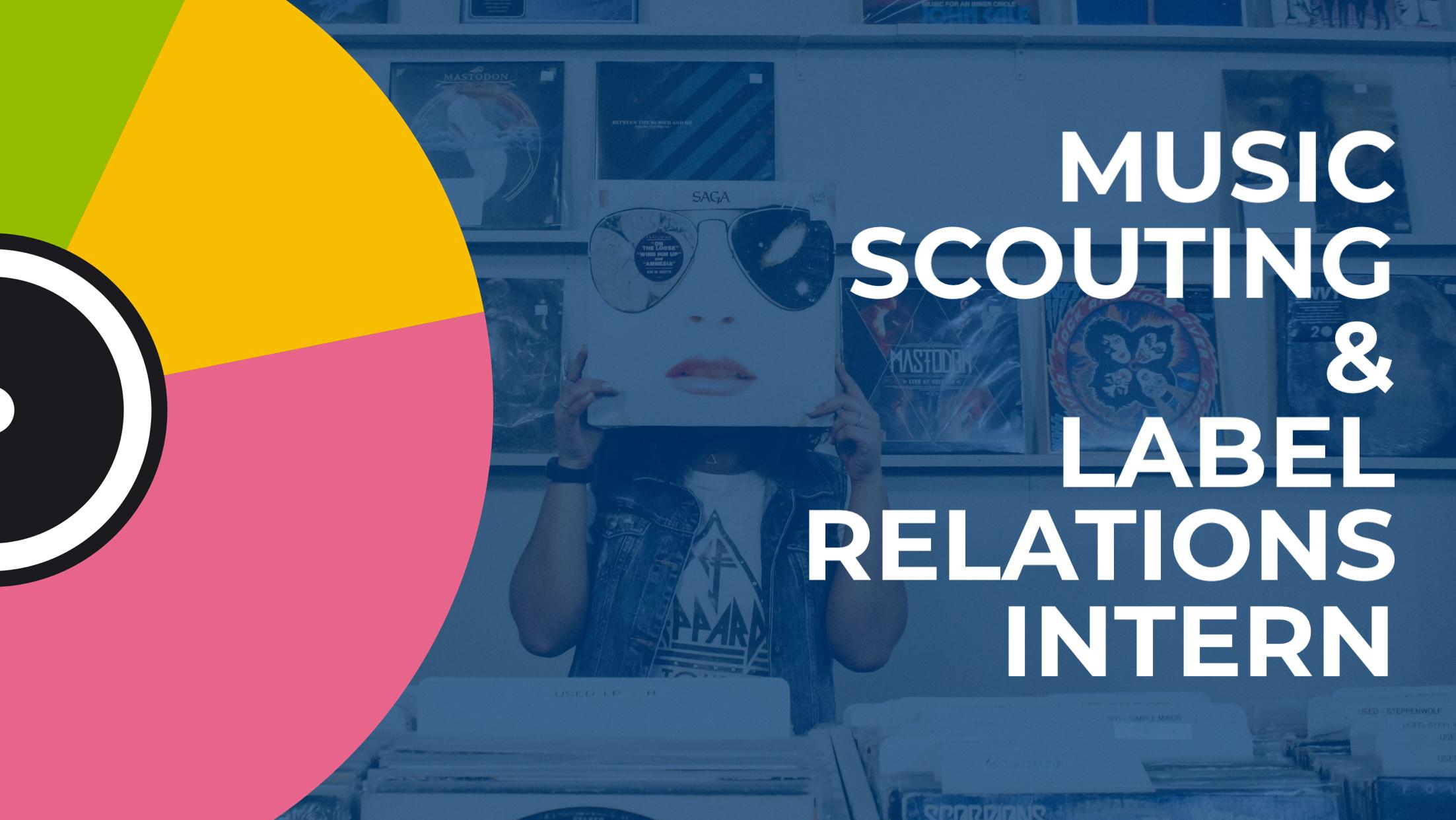 music scout internship Berlin banner