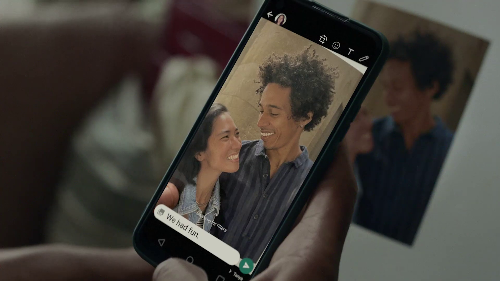 new WhatsApp commercial with Jamie XX